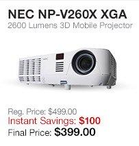 NEC Mobile Projector