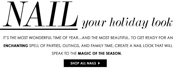 Nail your holiday look!