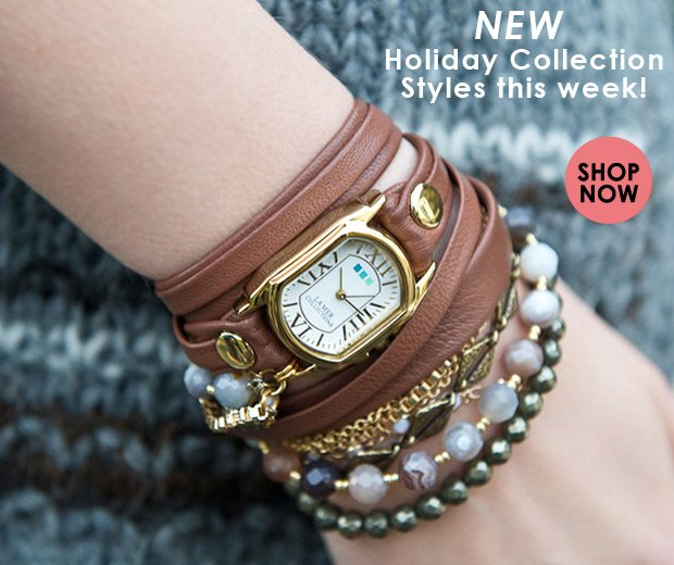 NEW Holiday Collection Styles this week!