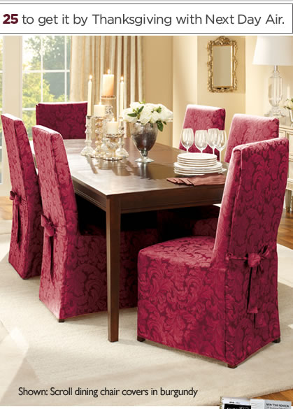 Scroll Dining Chair covers
