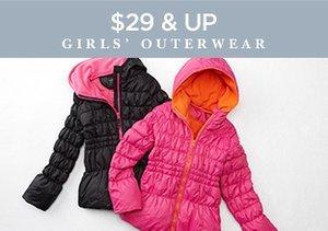 $29 & Up: Girls' Outerwear