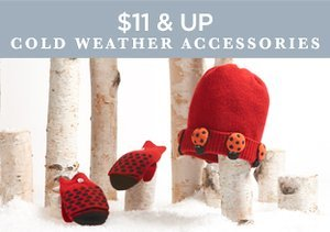 $11 & Up: Cold Weather Accessories