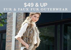 $49 & Up: Fur & Faux Fur Outerwear