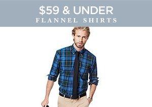 $59 & Under: Flannel Shirts