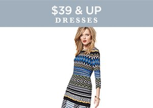 $39 & Up: Dresses