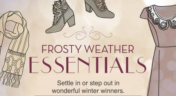 Frosty Winter Essentials
