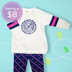 Very Darling: Baby Girl Sets & More