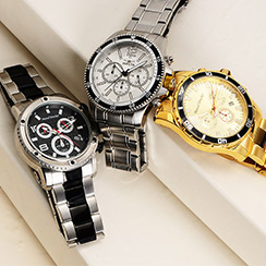 Most Wanted Holiday Gifts for Him: Watches & Jewelry