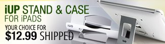Newegg Flash - iUP Stand & Case For iPADS