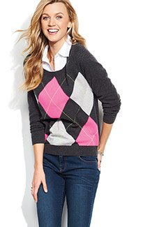 34.99 Apt. 9 cashmere sweaters for women. Select styles. orig. $125. SHOP NOW