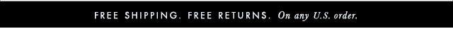 ELIE TAHARI | FREE SHIPPING. | FREE RETURNS. | On any U.S. order.