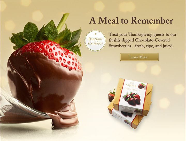 A Meal to Remember | Learn More