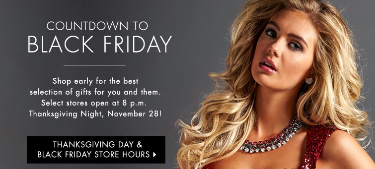 Thanksgiving day & Black Friday Store Hours