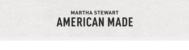 Martha Stewart American Made Market
