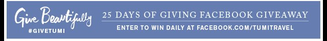 Give Beautifully - 25 Days of Giving Facebook Giveaway - Enter to win