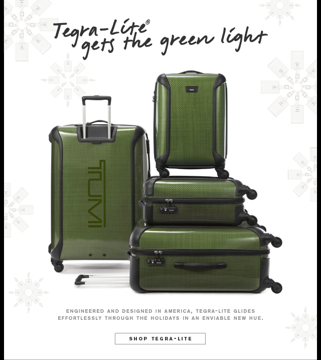 Tegra-Lite® gets the green light - Shop Tegra-Lite®