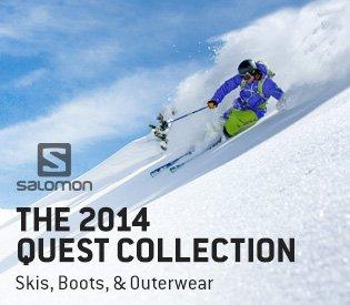 The 2014 Salomon Quest Collection