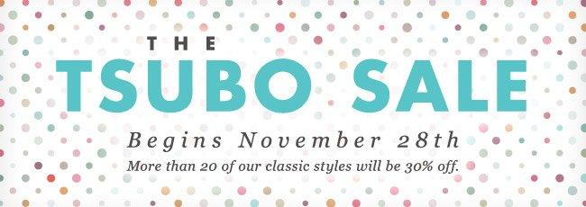 THE TSUBO SALE