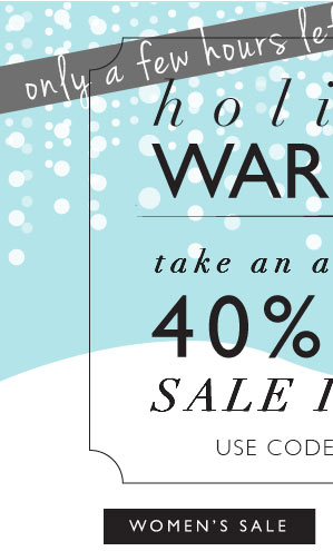 Holiday Warmup | 40% Off gorjana Sale Items