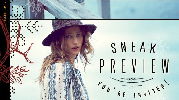 You're Invited to the Sneak Preview! Shop the the entirely new December Catalog before anyone else!