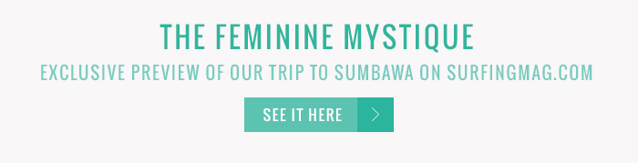 Exclusive preview of our trip to Sumbawa on Surfingmag.com. See it here.