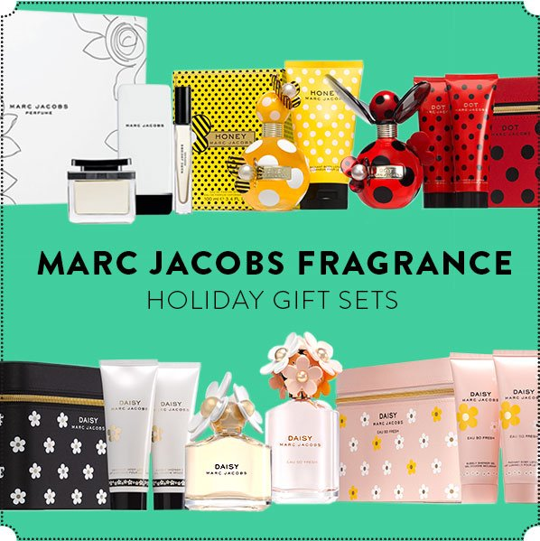 MARC JACOBS FRAGRANCE - HOLIDAY GIFT SETS