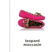 leopard moccasin