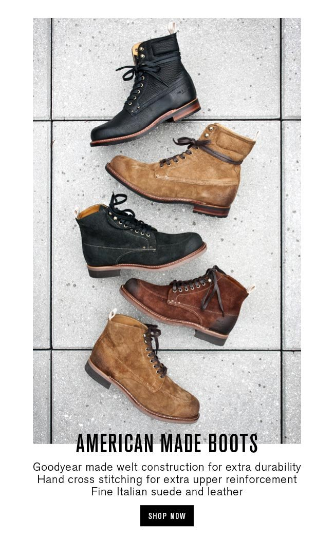 American Made Boots