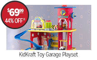 KidKraft Toy Garage Playset - $69.99 - 44% off‡