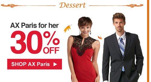 Dessert | AX Paris for her 30% off | Shop AX Paris