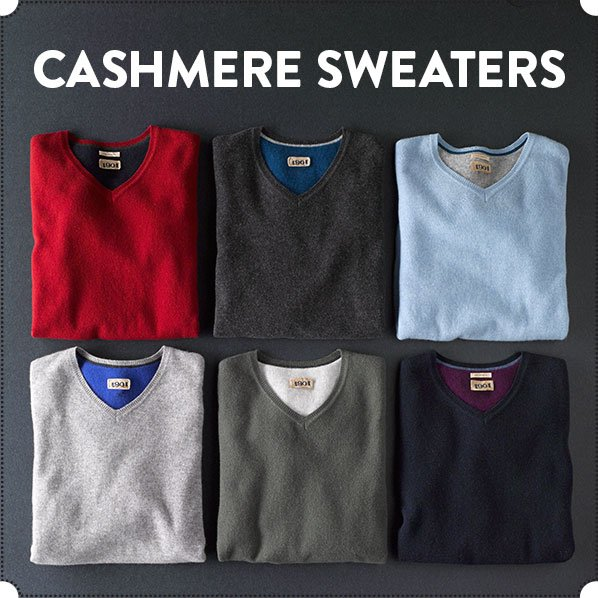 CASHMERE SWEATERS