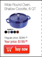 Shallow Round Cocotte