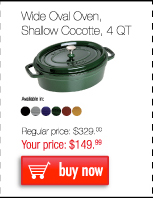 Shallow Oval Cocotte