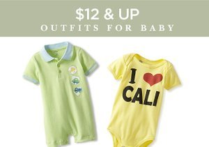 $12 & Up:  Outfits for Baby