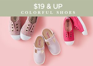 $19 & Up: Colorful Shoes