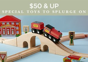 $50 & Up: Special Toys to Splurge On