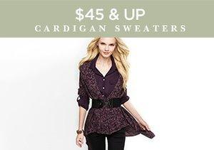 $45 & Up: Cardigan Sweaters