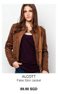 Alcott Fake Skin Jacket