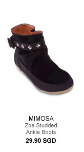 Mimosa Zoe Studded Ankle Boots