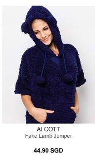 Alcott Fake Lamb Jumper