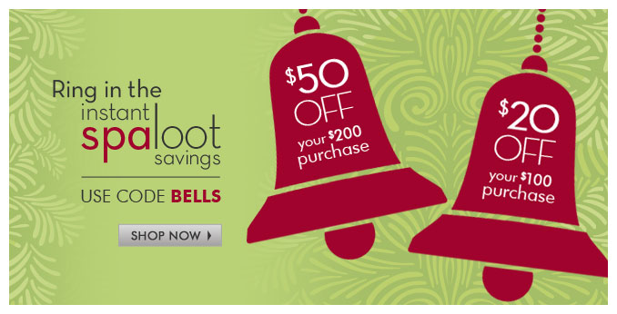 $50 off your $200 purchase | $20 off your $100 purchase use code BELLS — Shop Now »
