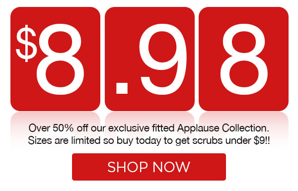 Over 50% Off Applause Collection! - Shop Now