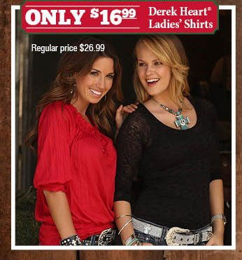 Only $16.99 Derek Heart Ladies' Shirts