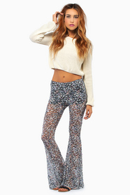 Finding Floral Flared Pants 33