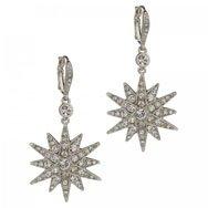 KENNETH JAY LANE - Crystal embellished star drop earrings