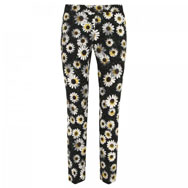MOSCHINO CHEAP AND CHIC - Daisy print crepe trousers