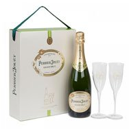 PERRIER JOUET - Grand Brut Two Flute Gift Set