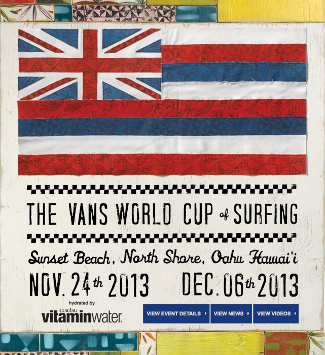 Follow the Action - Vans World Cup of Surfing starts Today!