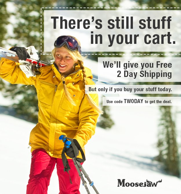 There's Still stuff in your cart - get in now