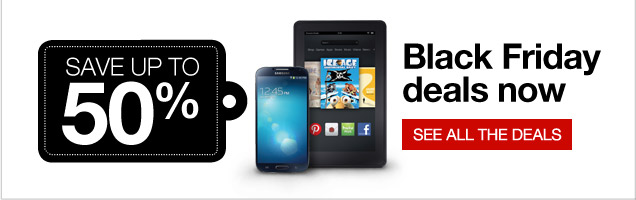 Save up  to 50% Black Friday deals now. See all the deals.